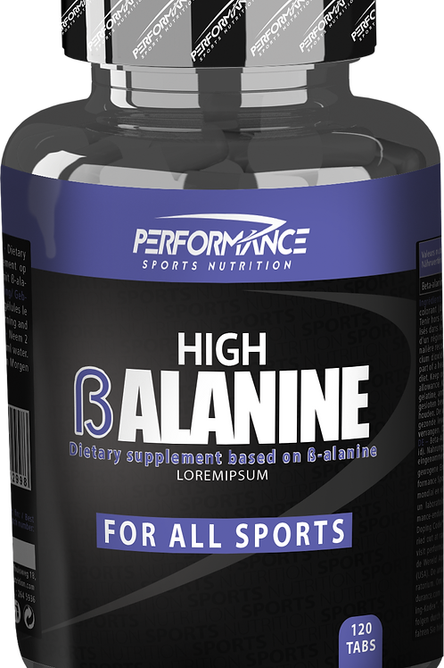 Performance Beta Alanine 120 Caps