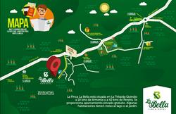 Mapa ubicación finca la bella tebaid