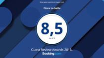 Finca Hotel La Bella Guest Review Awards 2016