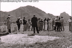 Town Hall Ground Breaking