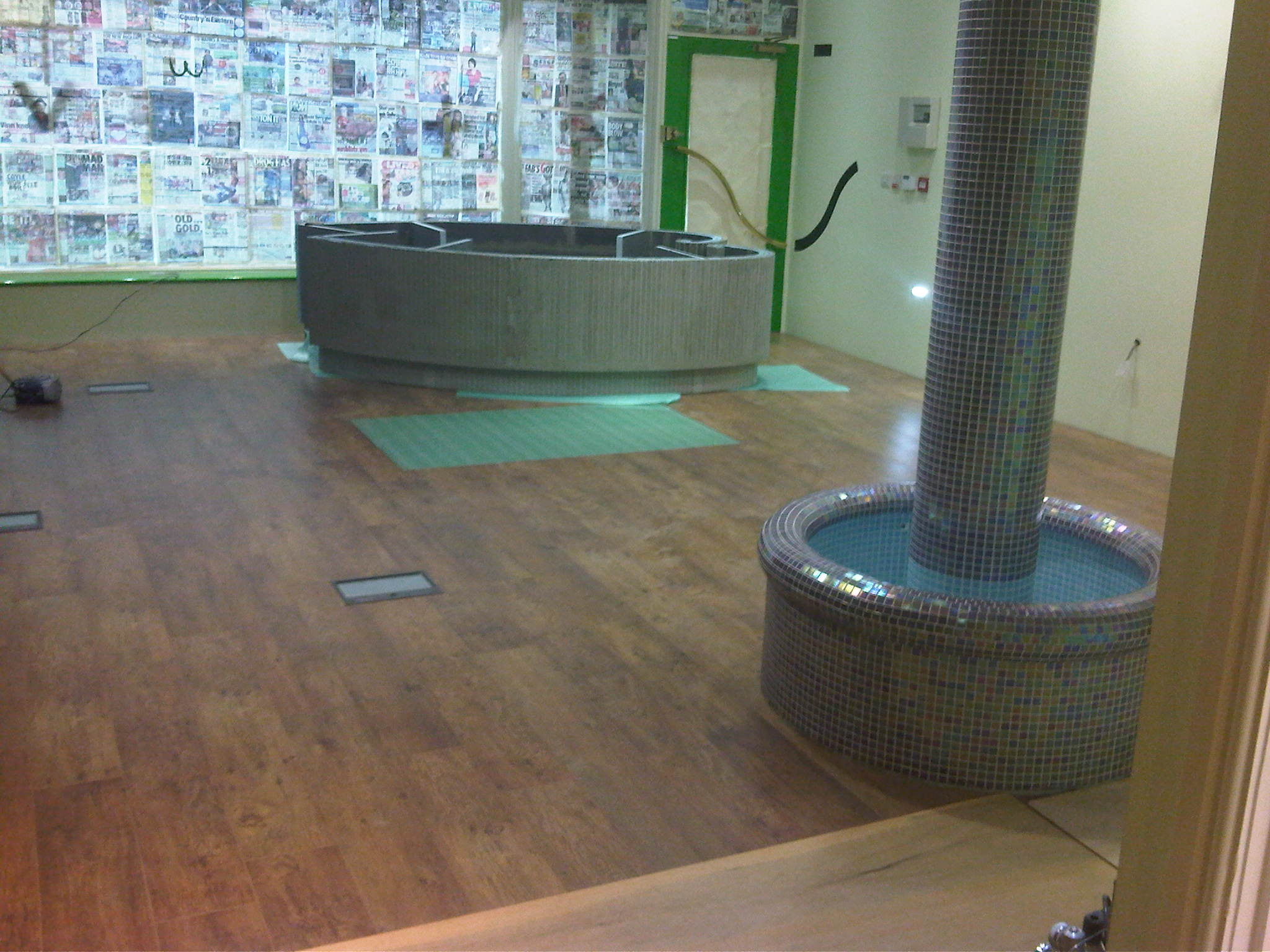 Finished Floor Covering
