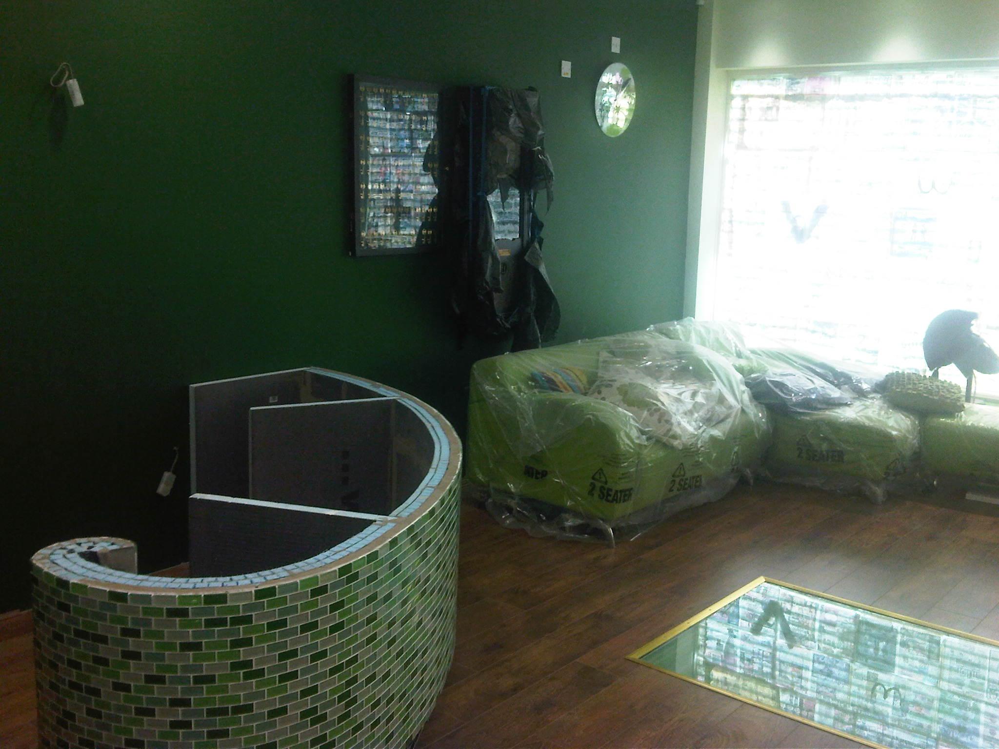 Green Sofas