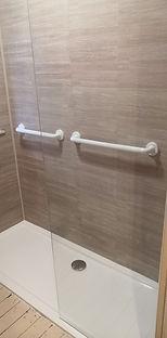 Low Profile Shower Area