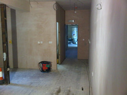 Plastering Completed