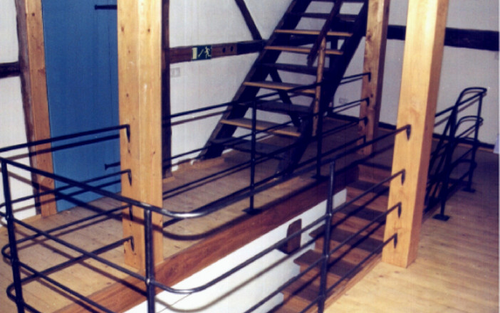 Geländer Saigerhütte Olbernhau