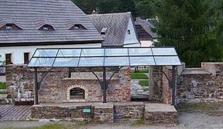 Vordach Treibeherde Saigerhütte