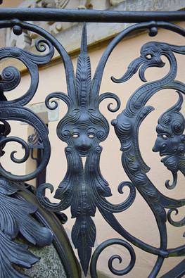 Geländer Villa Rothermundt Details