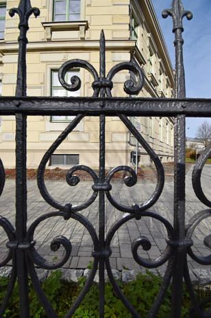 Zaun Waisehaus Marienberg