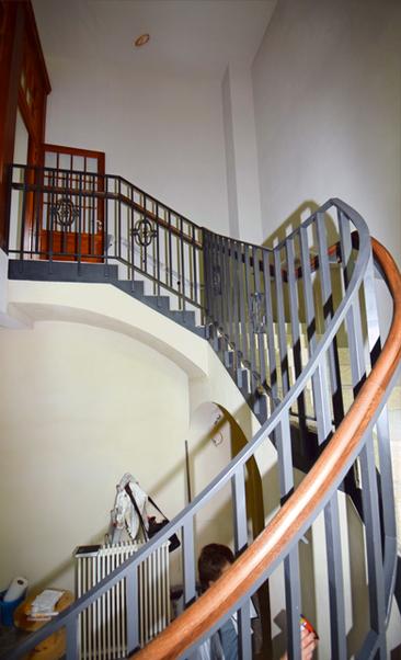 Treppengeländer Kulturforum Synagoge Görlitz