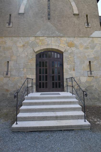 Geländer Kirche Einsiedel