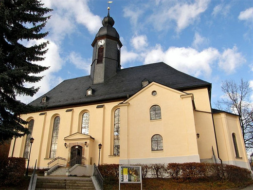 Fenster Christuskirche Oelsnitz