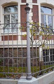 Zaun Lützowstraße Leipzig