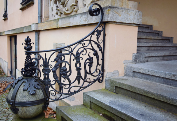 Geländer Villa Rothermundt