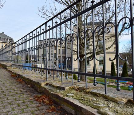 Zaun Waisenhaus Marienberg