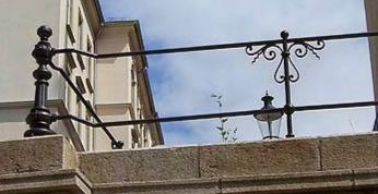 Geländer Peter-Paul-Kirche