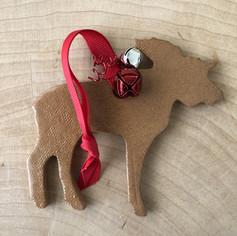 Animal ceramic ornament