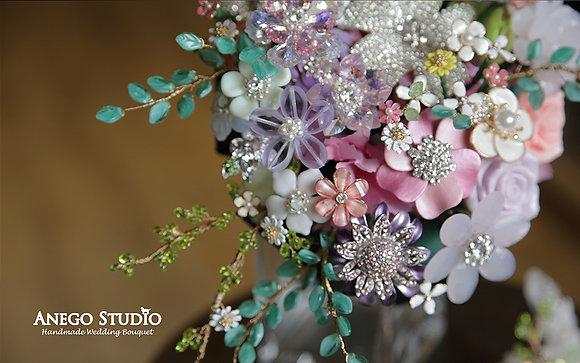 Flower garden handmade bouquet