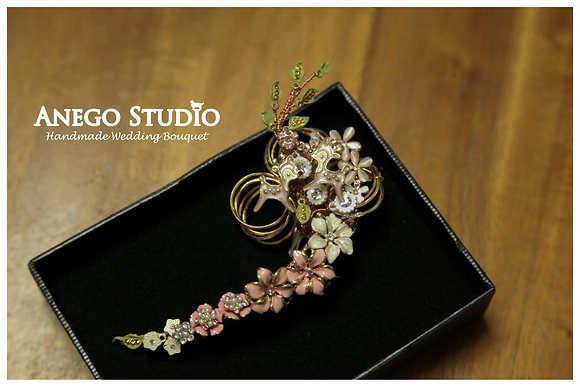 Special design handmade jewelry boutonniere