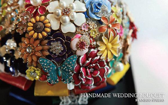 Summer Garden Jewelry bouquet