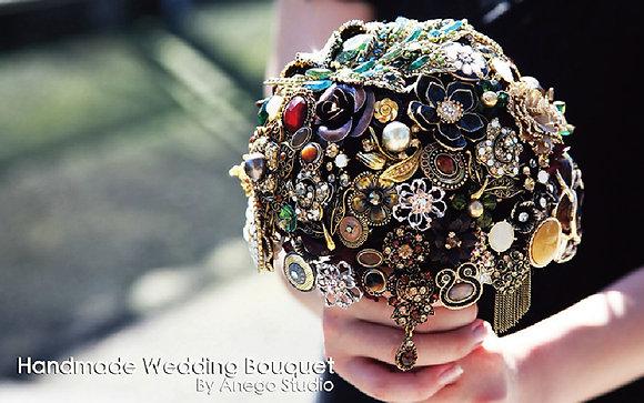 Vintage handmade bouquet