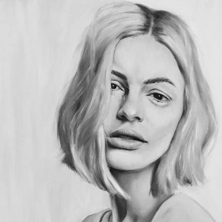 Grayscale Girl