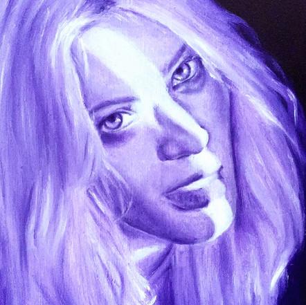 Purple Portrait