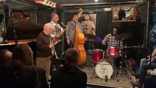 Jarrett Performing with the Valery Ponomarev Quintet at Smalls (December 28th, 2018)