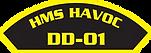 RMN_Ship_Shoulder_Patch_HMS_Havoc__41724