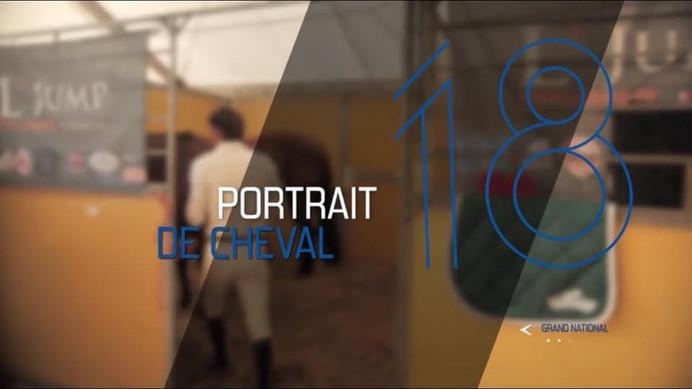 """Vinvin dans l'émission """"Portrait de cheval"""" sur chevalTV"""