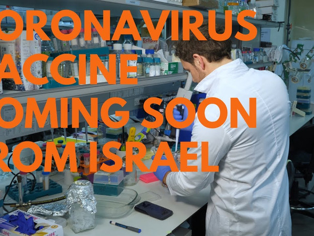 Israeli Lab Working on the Coronavirus Vaccine