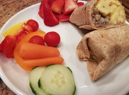 Back-to-School Breakfast Burritos
