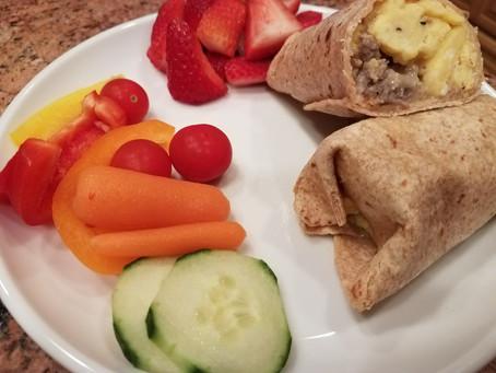 Back-to-School Breakfast Burritos