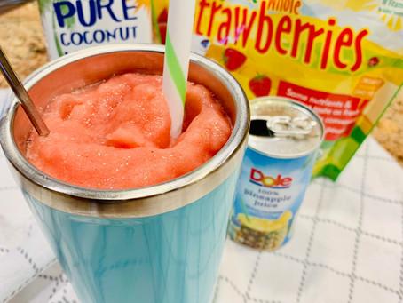 Easy Real Fruit Slushie