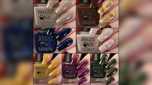 """Night Owl's Falltivities Collection, November COTM, &""""Of a Feather"""""""