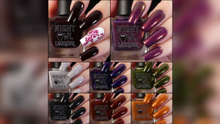 Night Owl Lacquer's Potion Ingredients, October COTM & 4 Year Anniversary Polish