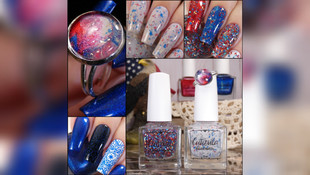 "Cuticula X Crafty Taco Red, White, & Blue Trio and ""Elaine"" Restock"