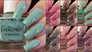 Cuticula's Galaxy Macaron Collection and September's SPrinkle of the Month