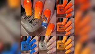 Night Owl Lacquer's Neon Sunset Collection and June COTM