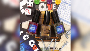 A Game of Clue with BCB Lacquers & Geekish Glitter Lacquer
