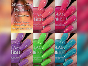 Glam Polish 'Beauty And The Beach' Limited Edition Collection