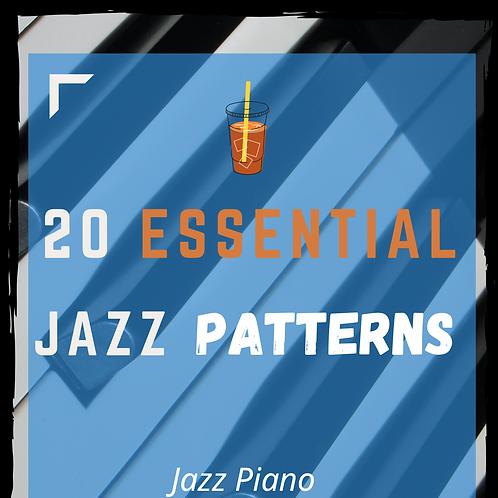 20 Essential Jazz Patterns (All Keys) [ENG-ESP-日本語]