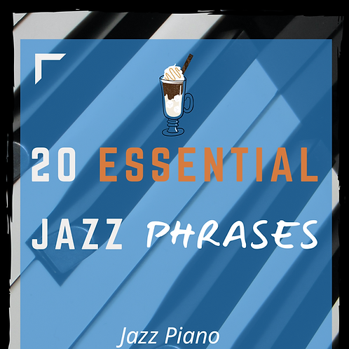 20 Essential Jazz Phrases (All Keys) [ENG-ESP-日本語]