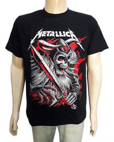Metallica - Caveira Viking