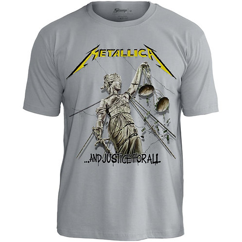 Metallica - and Justice for All (malha cinza)