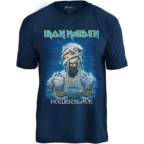 Iron Maiden - Powerslave (malha azul)