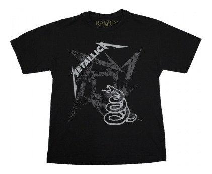 Metallica - Black Album Juvenil
