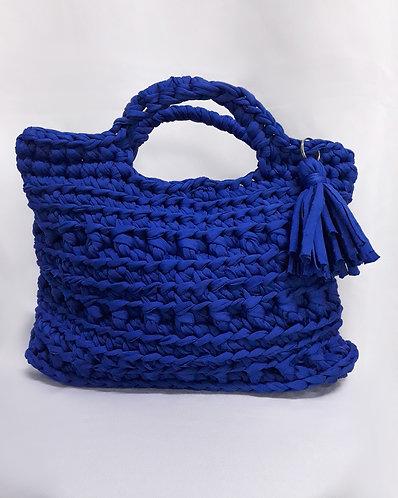 Bolsa de Crochê Fio de Malha - Modelo Kahakai