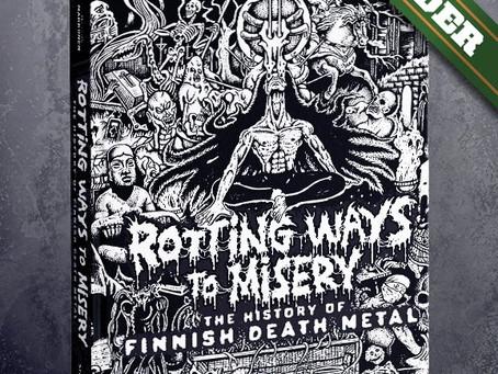 Edição Americana do livro History Of Finnish Death Metal será lançada em Abril
