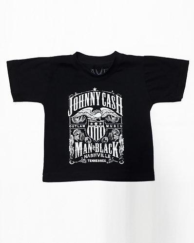 Johnny Cash Man in Black Infantil
