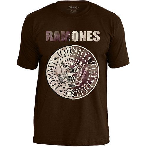 Ramones - Malha Marrom